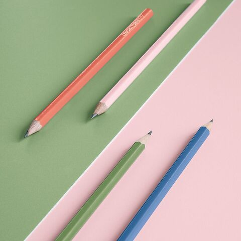 Pencil Muted Colours
