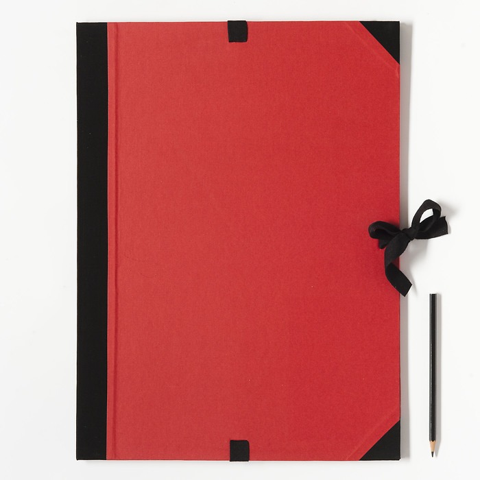 Artists Portfolio Case A3 red