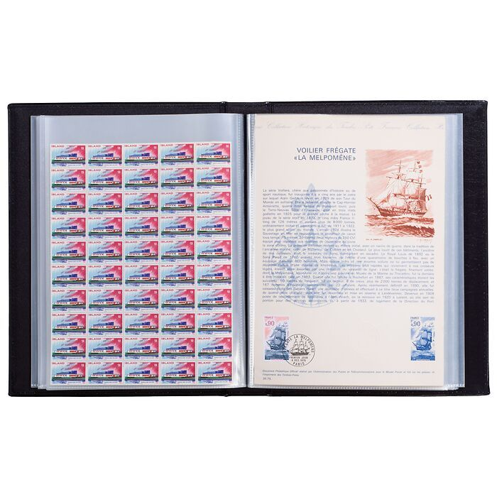 Certificate Portfolio with 60  pockets, DIN A4