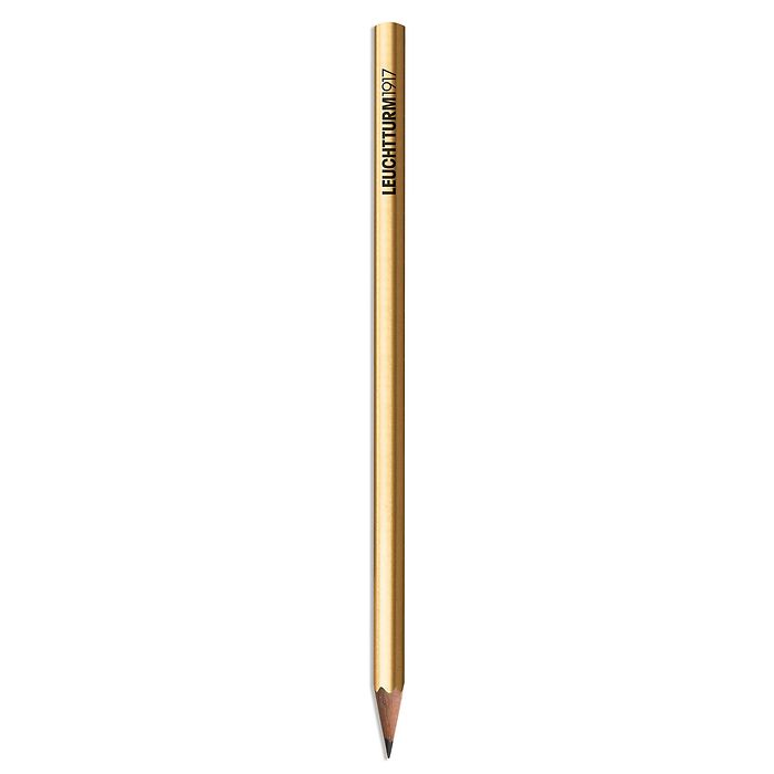 Pencil HB, LEUCHTTURM1917, Gold