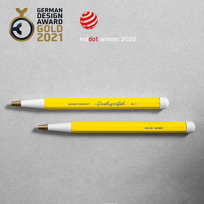 Drehgriffel Nr. 1, Denim - Ballpoint pen with royal blue ink