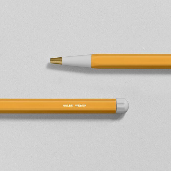 Drehgriffel Nr. 1, Rising Sun - Ballpoint pen with royal blue ink