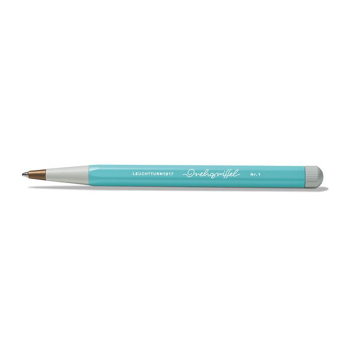 Drehgriffel Nr. 1, Aquamarine - Ballpoint pen with royal blue ink