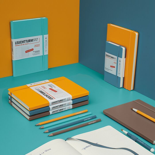 Weekly Planner & Notebook, German